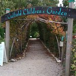 Entryway into the children's garden