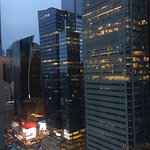 View from our room (39th floor)