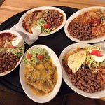 Wonderful selection of delicious New Mexican dishes