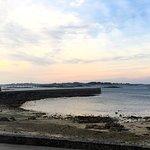View from the Patio to Isle de Batz