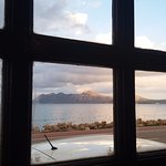 The view over the bay from our table