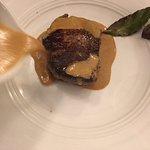 au foie gras...