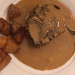 filet de boeuf et sa sauce foie gras