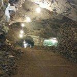 Dentro da mina