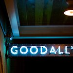 Sign above Goodall's Kitchen at Hotel Ella