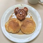 Found the pancakes to be better than the mickey waffle.