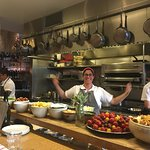 """A """"State Bird"""" in the Kitchen! Fun staff, great ambiance, excellent service!"""