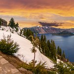 Not far from Crater Lake National Park
