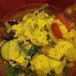 Salad was excellent
