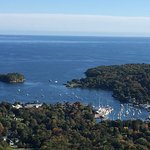 View of Camden from Top of Mt Battie