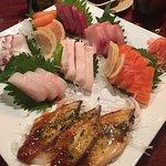 Kansai Sashimi Deluxe Sampler
