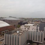 Overlooking the Bradley Center