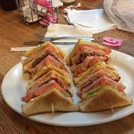Best club sandwich ever!!!!!!!!