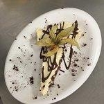 Cheese cake aux petits suisses et chocolat maison