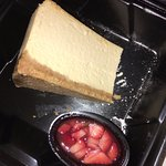 In-house cheesecake. To die for.
