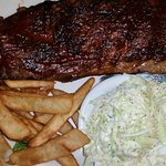 St Louis Ribs, the house speciality. big portions!