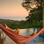 Relax in your own private hammock with ocean views