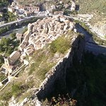 View of Entrevaux from the top