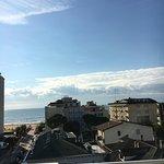 Aussicht vom Dach des Hotels