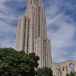 The towering Cathedral of Learning, University of Pittsburgh