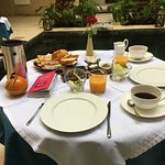 Breakfast at the Riad