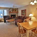 Beautiful Comfortable Condos - Kitchen, Fireplace