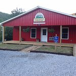 English Farmstead Cheese, located in the North Cove community, on US Hwy. 221 North.