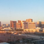 View of the strip from our room