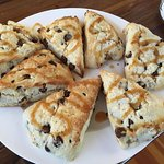 Chocolate Chip Scones at Emily's House
