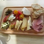 For lunch...a Ploughman's lunch for two