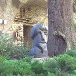a Gaudier-Brzeska sculpture of Ezra Pound
