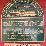Alpine Restaurant & Bar opening hours (10/Oct/16).