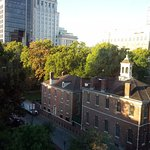 Independence Hall from our room window