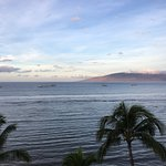 View from 6th floor (view on Lanai Island)