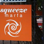 Squeeze Marfa across from the County Courthouse