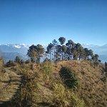 stunning mountain views in serene atmosphere