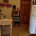 The fully equipped kitchen!