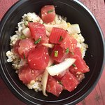 Sweet Maui onion poke