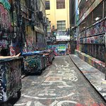 hosier lane - touristy but cool to see if you've never been!