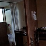 bathroom of the 3bhk suite upstairs