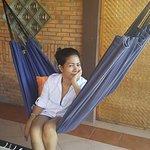 Toba Villa dilengkapi oleh hammock