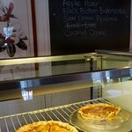 Homemade Cafe is well-known for its delicious homemade pies, by the pie or by the piece.
