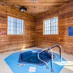 Hydrotherapy Spa in a Wooded Room.
