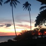 Sunset, photo taken at the pool