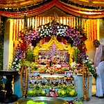 Iskcon temple kharghar is popular for quite and peaceful place.