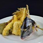 Dorada de Estero Frita en Tempura!!