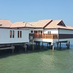 Villas above the sea
