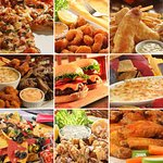 Hot Food Collage