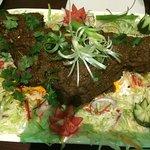 Mirza Lamb.  Most enjoyable.  Good appetites needed.