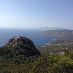 Крепость Монолитос на Эгейском побережье
